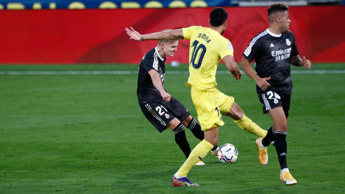 #Porsiteloperdiste 👇  ¡El Real Madrid empató a un tanto contra el Villarreal! https://t.co/lsiV4t2VrX