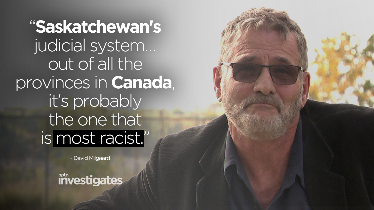 David Milgaard, likely Canada's best known wrongful conviction case, is an advocate for prisoners. After hearing about Nerissa and Odelia Quewezance, he felt he needed to help get these women out of jail. APTN Investigates: A Life Sentence - Watch: aptnnews.ca/investigates/a…