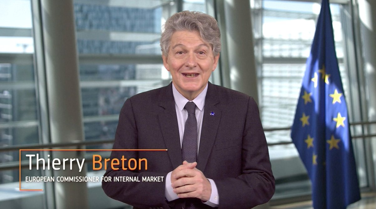 """It is a great pleasure for me to say that #Sentinel6 Michael Freilich is currently on its way to its target orbit following this successful launch."" - Commissioner @ThierryBreton   We are grateful for a successful launch 🥳🥳  Watch the full speech here:"