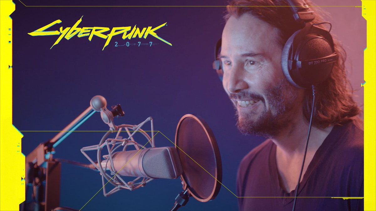 Keanu Reeves brings a legend to life in this exclusive behind the scenes from @CyberpunkGame: