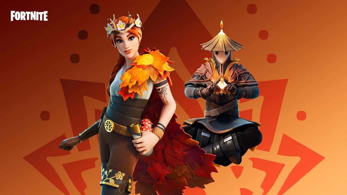 Watch over the forest and guide its ever changing spirit through the seasons.  Get the Changing Seasons Set in the Item Shop now!