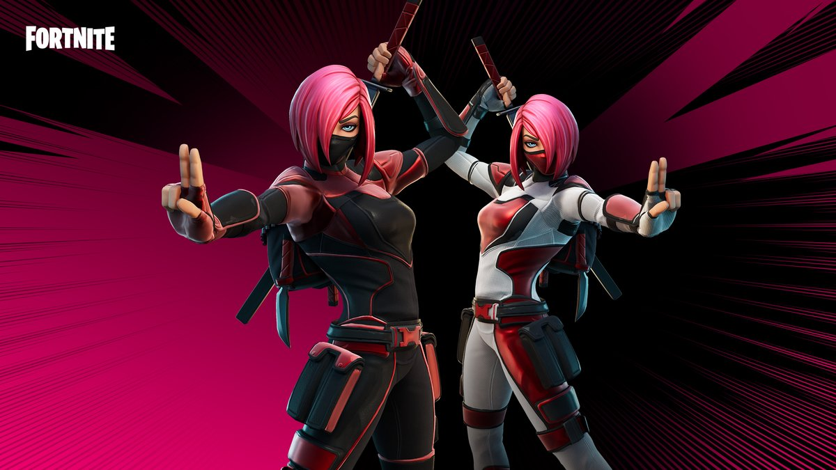 She stops hearts on sight, but that stunning feeling isn't love, it's cold hard steel.  Check out the Heart-Stopper Set in the Item Shop now!