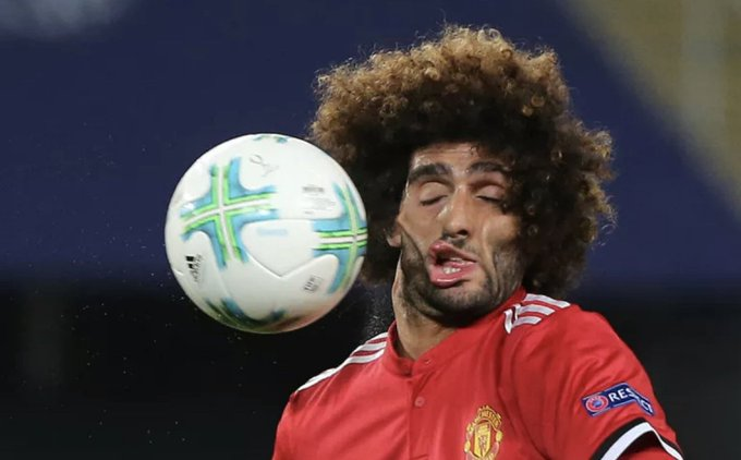 HAPPY BIRTHDAY Marouane Fellaini turns 33 today.  Miss that guy...