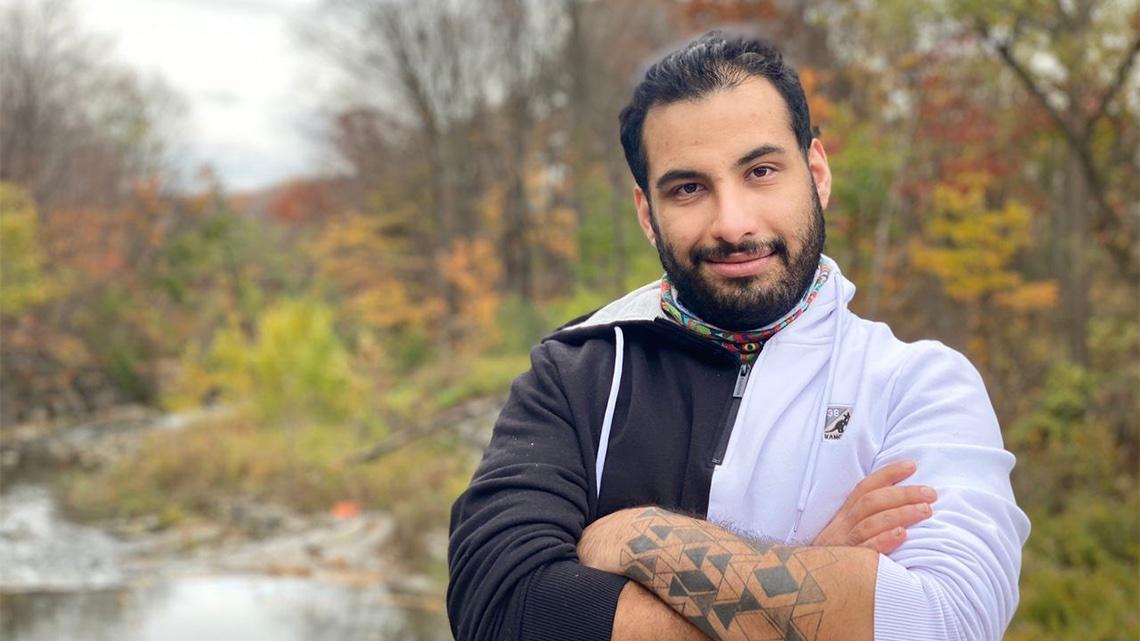 #UofT bridging program helped @UofTArtSci grad Faraz Khoshbakhtian 'find a future for myself' #UofTGrad20 📜