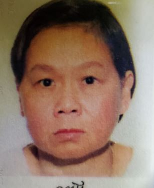 MISSING WOMAN: My Luong, 63 - last seen on Nov. 21, at 3:30 p.m., in the Islington Ave & Fordwich Cres area - she is described as 410, short black hair, brown eyes - last seen wearing black pants, purple jacket w/ green patches on both shoulders, and black shoes #GO2209220 ^al