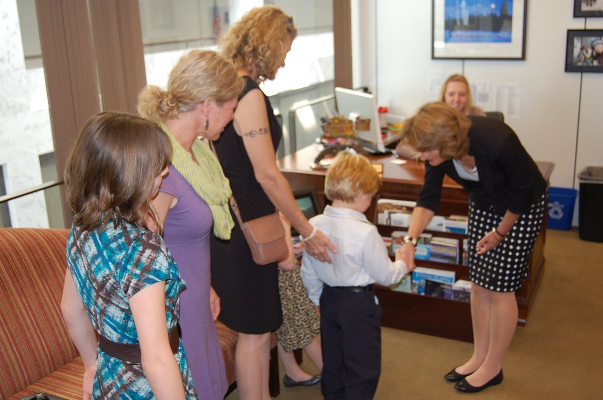 On #NationalAdoptionDay, thank you to the countless Alaskan families for opening your hearts and homes for children in need of a family. Pictured here are some of my visits over the years with Alaskans nominated for the @CCAInstitute Angels in Adoption Program.