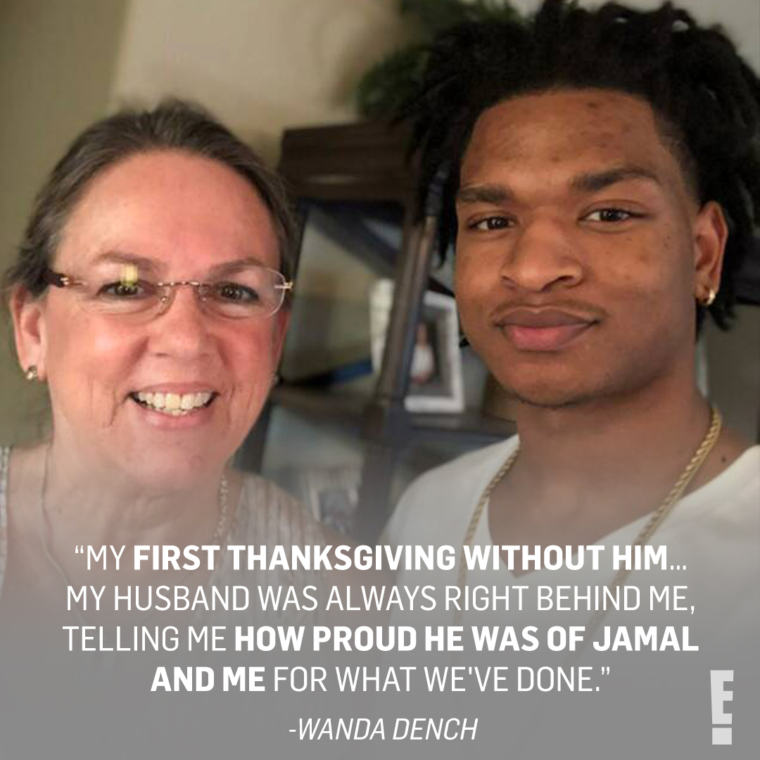 In 2016 Wanda Dench accidentally invited Jamal Hinton to her Thanksgiving dinner, forming a beautiful friendship. Ahead of Wanda's first Thanksgiving since her husband passed, Jamal was right by her side with an early celebration. ❤️