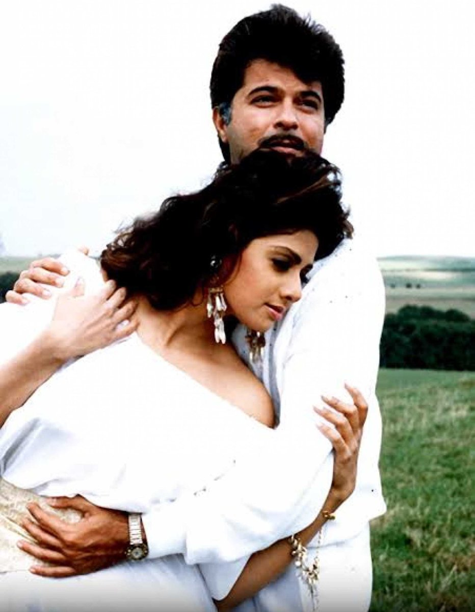 LAMHE : released today in 1991  Yash Chopra's film written by Honey Irani & music by Shiv-Hari. Award-winning, acclaimed performances by Sridevi, @AnilKapoor & @AnupamPKher