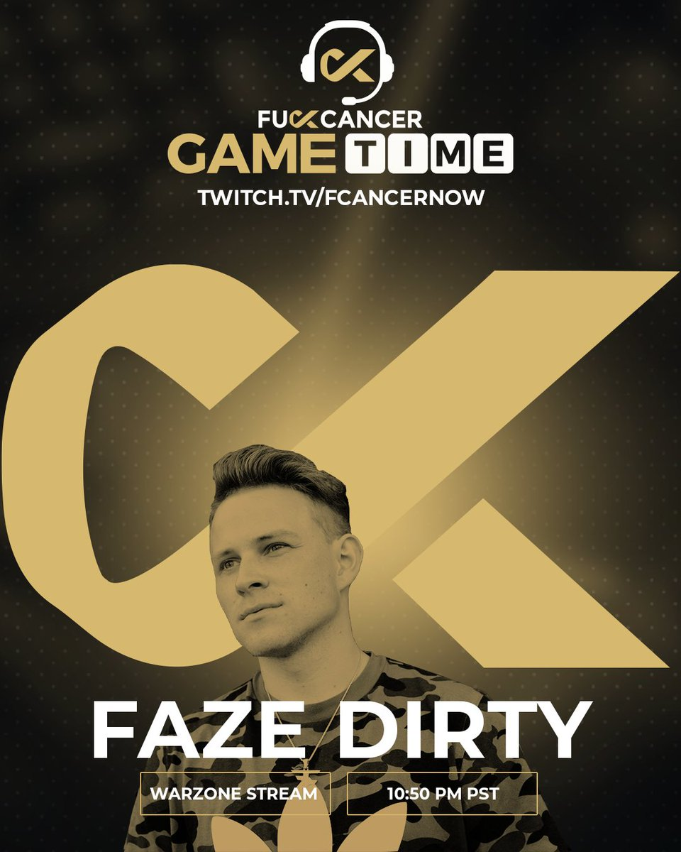 Dirty - F cancer charity stream because... fuck cancer  if we hit our goal of $5,000 you guys get to pick a color to dye my hair