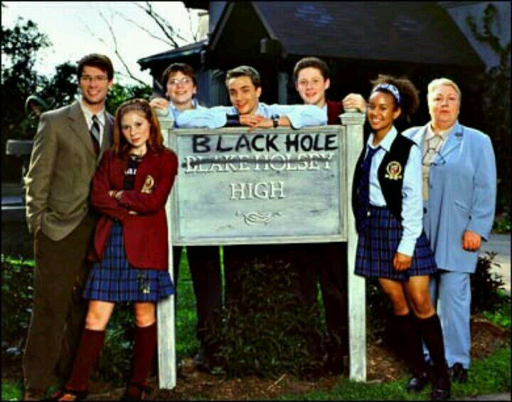 Weird stuff happens at this school, and only the Science Club seems eager to find out why. It's #StrangeDaysatBlakeHolseyHigh aka #BlackHoleHigh on SMF, part of 70 Years of #SaturdayMornings.