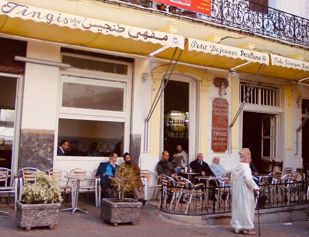 Cafe de Paris? When in Tangier I prefer the Tingis #BourneTraveller