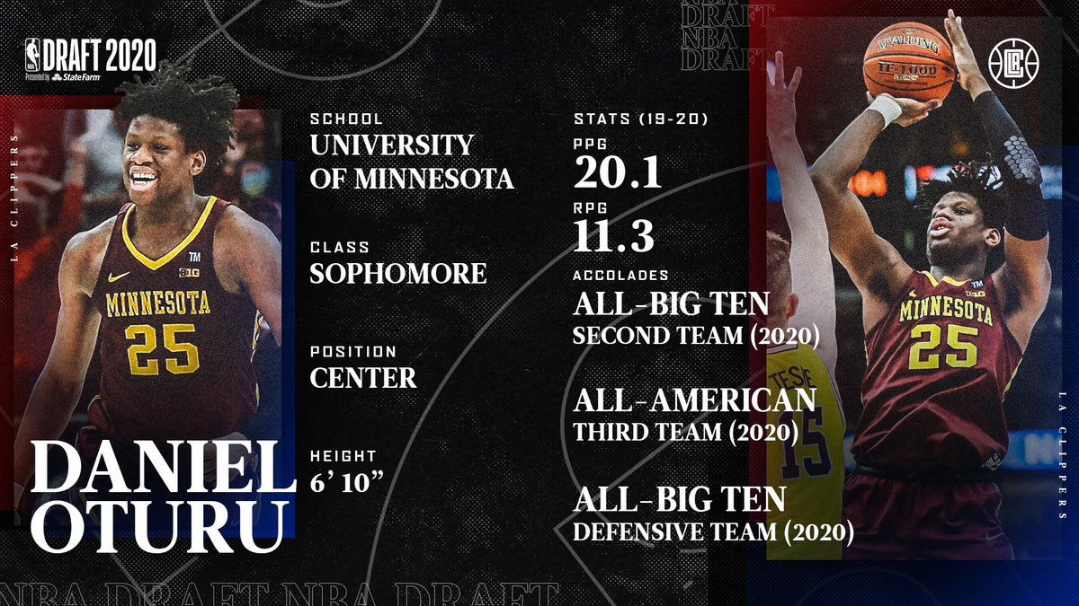 Get To Know: @oturu65 ▪️ All-Big Ten Second Team (2020) ▪️ All-American Third Team(2020) ▪️ All-Big Ten Defensive Team (2020) https://t.co/FlBheBUzgh