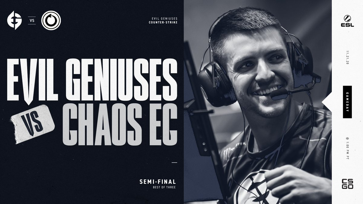 Evil Geniuses - We agree with the casters, we're 100% confident that we win this #IEM Beijing-Haidian 2020 Semi-Final. We're heading to Overpass first! #EGWIN