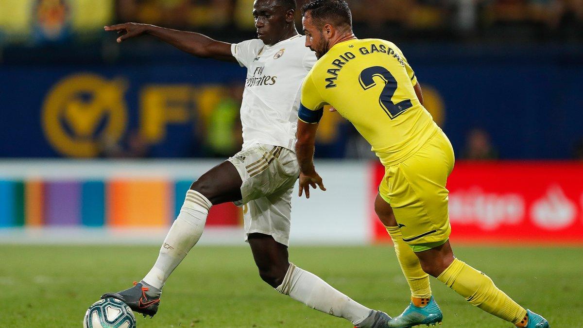 🤩🆒 @ferland_mendy a débuté lors du dernier déplacement à Villarreal! Depuis:  ⚽ 41 matchs disputés 2⃣ trophées 🏆  #HalaMadrid