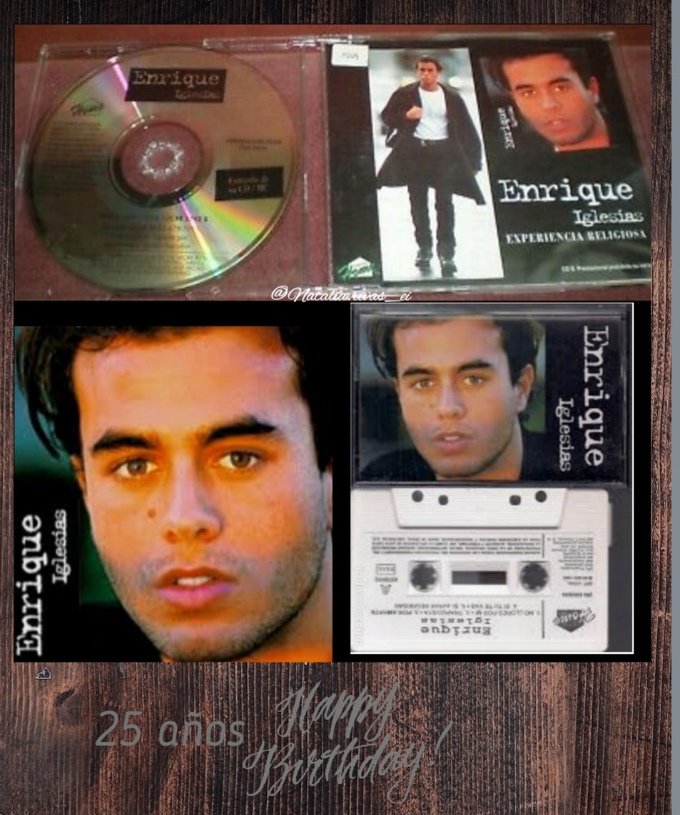 Felices 25 años primer cassette! Y Cd Álbum nuestros sentimientos ❤ 21/11de 1995 💘👈🏻 por siempre! @enriqueiglesias #situtevas  #ExperiensaReliosa  #PorAmarte #nollorespormi  #trapecista  #muñecacruel #sijurasregresar #trapesista  #faltatantoamor  #inancanzable  #inventame  ❤🇦🇷