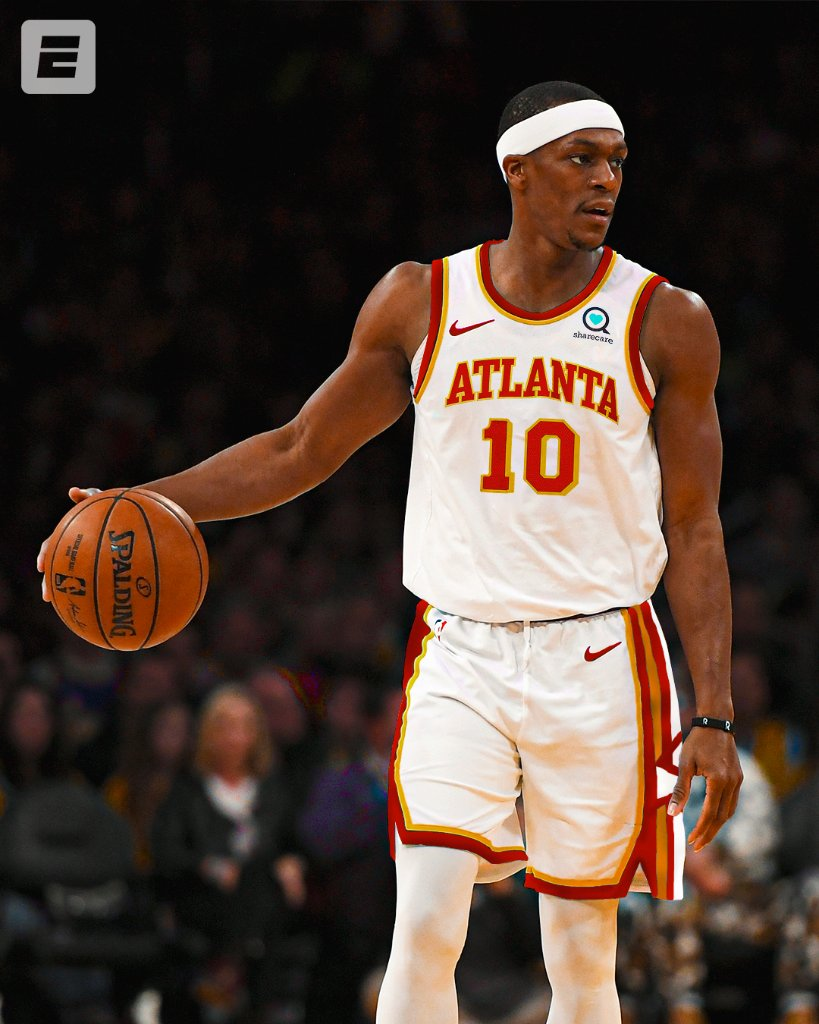 LA ✈️ ATL  Rajon Rondo is signing a two-year, $15M deal with the Hawks, per @wojespn. https://t.co/bq4CTOt8hr