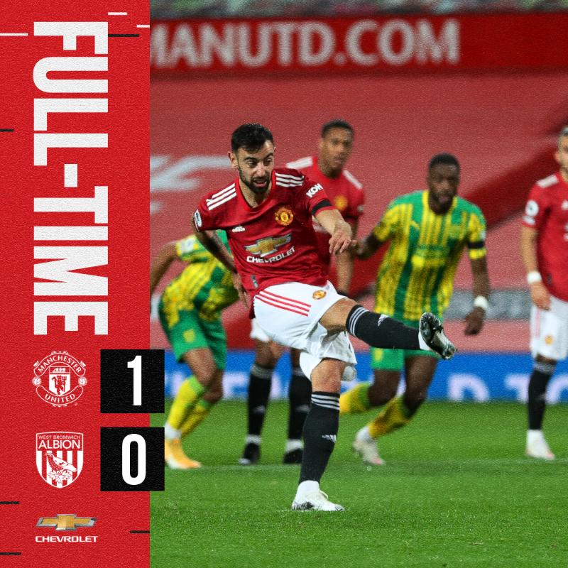 ホームで勝ち点3を獲得✅  🔴 #MUFC  #️⃣ #MUNWBA @Chevrolet