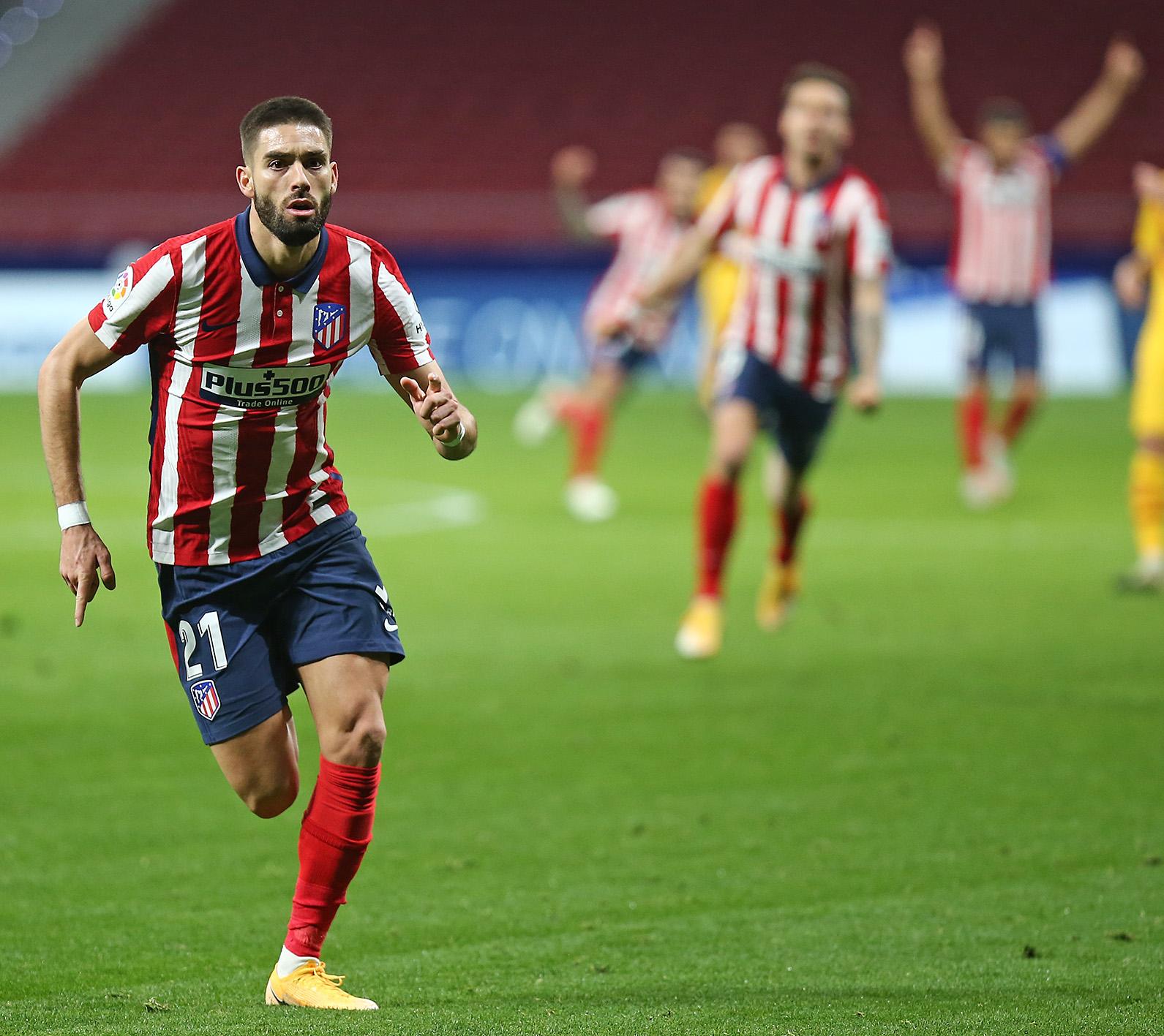 Yannick Carrasco: «Ya veremos lo que pasa en la Liga»