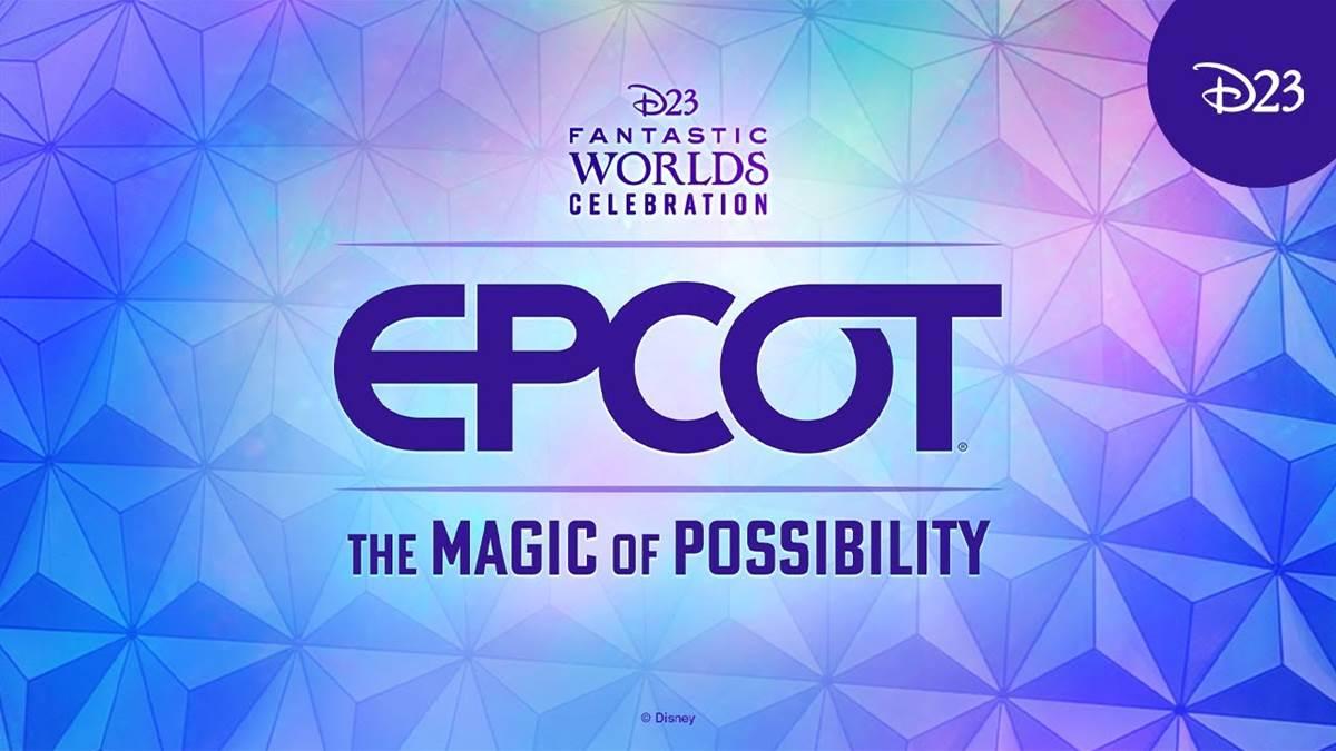 (Retour vers le Futur) Découvrez notre compte-rendu du panel EPCOT - The Magic of Possibility proposé en guise de clôture de la #D23FantasticWorlds Celebration.   #EPCOT #D23 #WDW