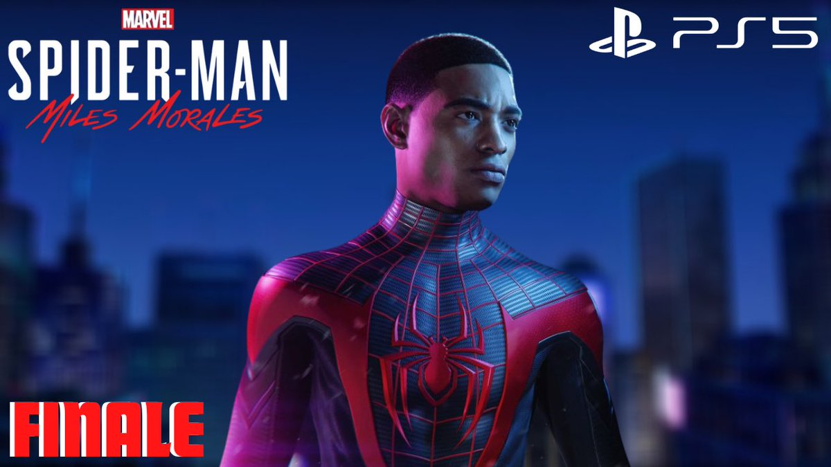 nerdcomedygaming - My entire 6 part play through for Spider-Man Miles Morales on the PS5 is up on my YouTube!!! (: check it out 🕷 ❤️  #youtube #MilesMoralesPS5