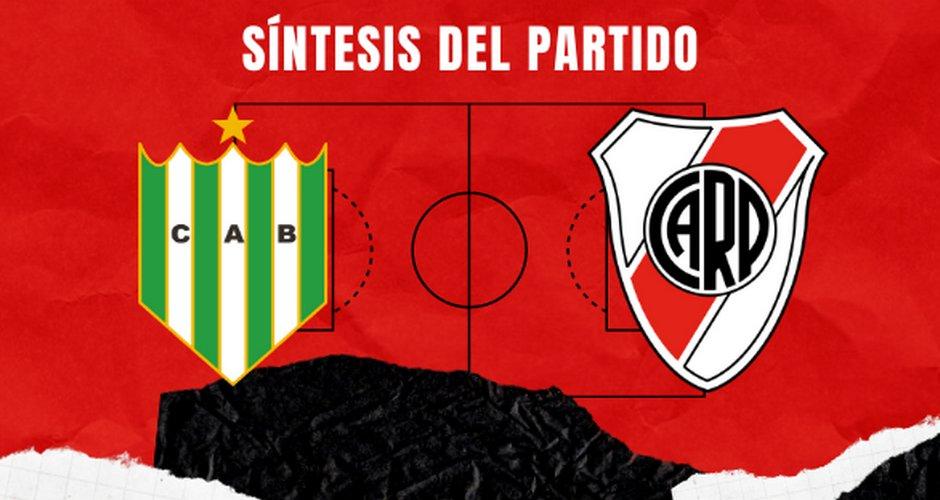  Síntesis del Partido   Banfield vs River Plate https://t.co/bVNslgKVc5 https://t.co/jQvXiQb39W