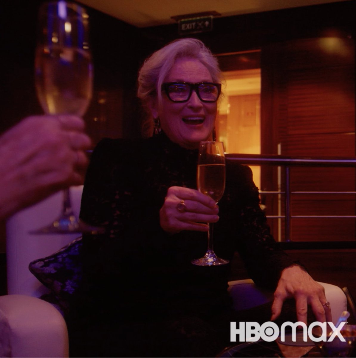 Here's to picking up the conversation. #LetThemAllTalk starring Meryl Streep sets sail December 10 only on HBO Max.