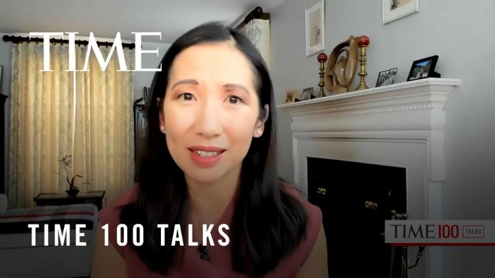 """Dr. Leana Wen on seeing loved ones during the holiday season: """"My blanket statement is that people should not be gathering indoors at all except with people who are in their immediate household that they have lived with""""  #TIME100Talks"""