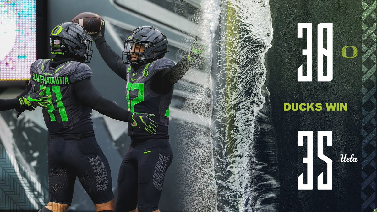 @oregonfootball's photo on #GoDucks