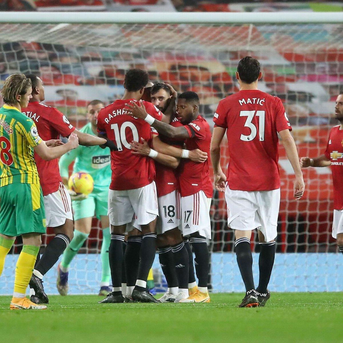 Manchester United vs. West Bromwich Albion - Football Match Report - November 21, 2020 Casino News - https://t.co/IP89PHSRFT https://t.co/rTiqkojVtU