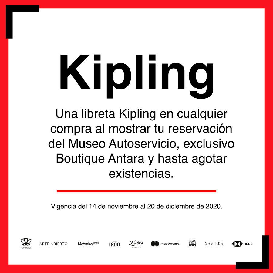 ¿Eres fan de #Kipling? Al presentar tu reservación del #MuseoAutoservicio, te regalarán una libreta super cool.  💜 https://t.co/vKTsoHHK9Z