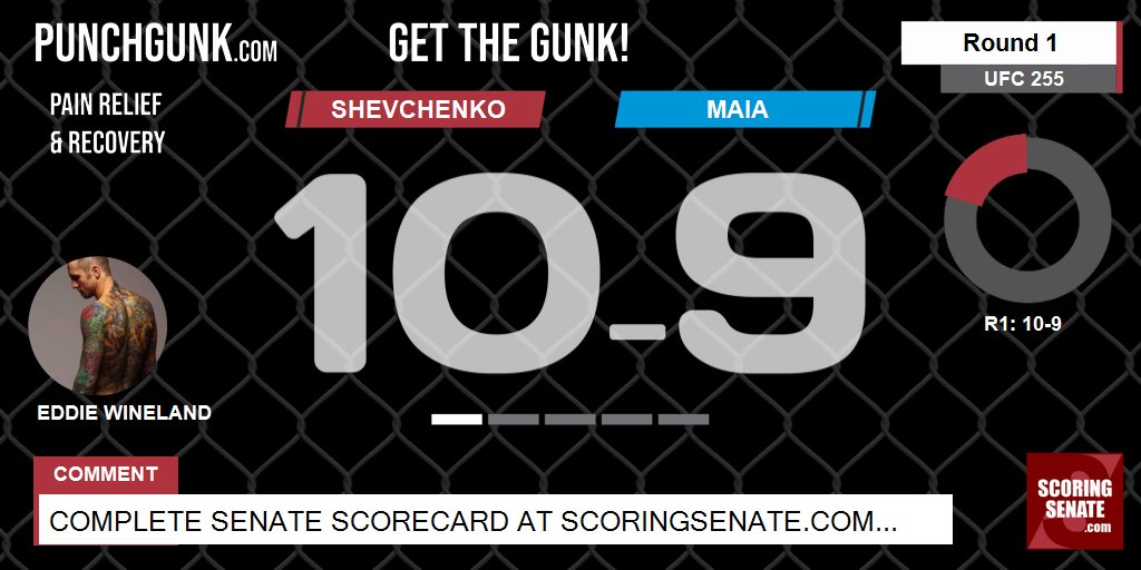10-9 Shevchenko R1  #UFC255 #ScoringSenate #MMA  Scorecard: https://t.co/PYphoynojx https://t.co/LYPruPSLDL