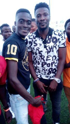 Happy birthday uncle Asamoah Gyan