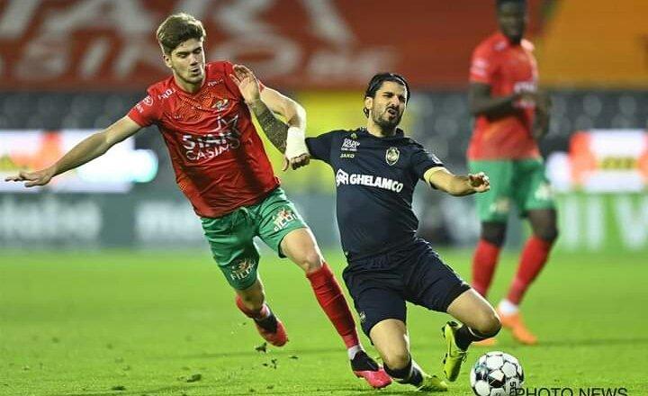 O KV Oostende, empatou 1x1 com o Royal Antwerp. 🔥 https://t.co/EhHRDpgVjh
