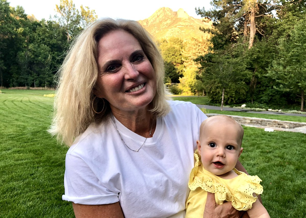 I am thankful for this woman, who is the love of my life, and for all the joy that this love has brought us, including our youngest granddaughter. #givethanks