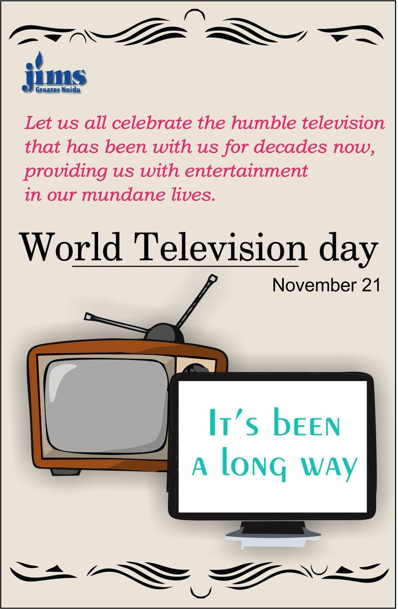 'The Journey Less Travelled: Idiot Box to Infotainment World' #WorldTVDay #WorldTelevisionDay