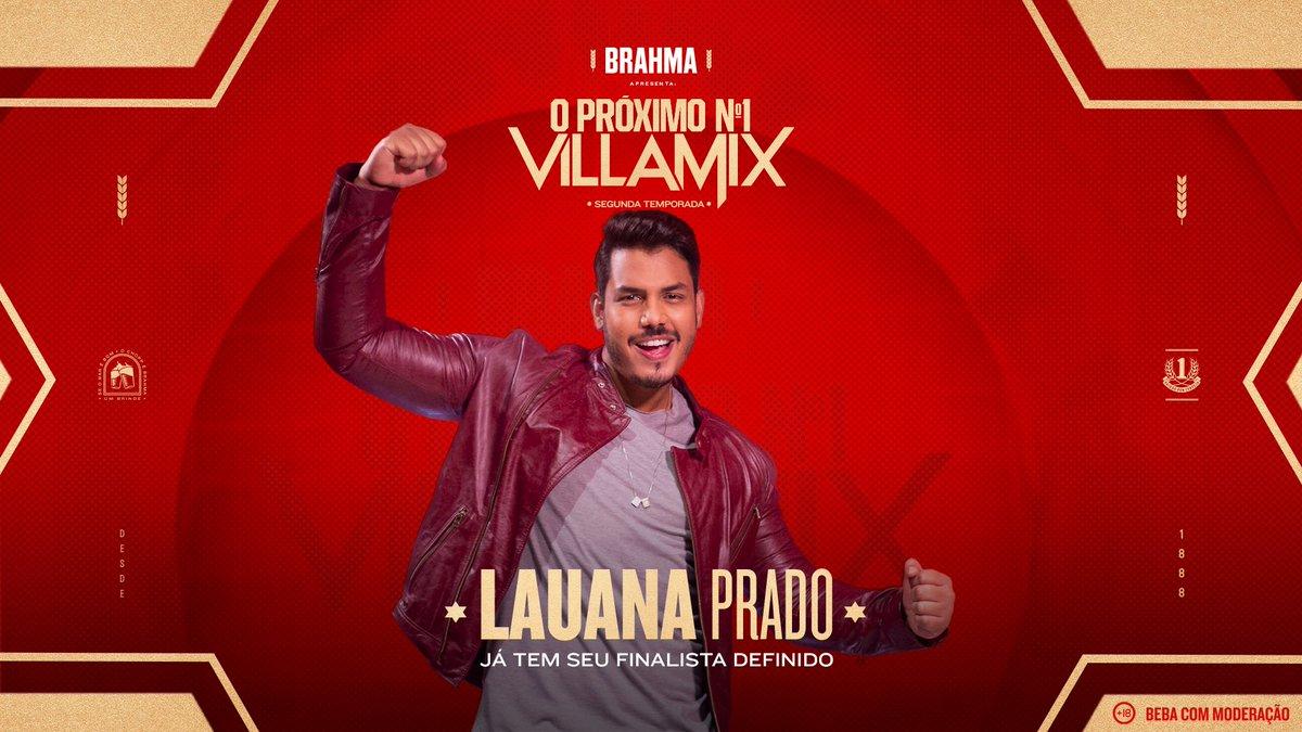 @LauanaPrado tem seu finalista e é o Berg gonzaga . Não perca a grande final do #ProximoN1 no dia 12 de dezembro, ao vivo, com todos os artistas e seus times. Enquanto isso, que tal colocar uma Brahma pra gelar e escolher o seu predileto em  .