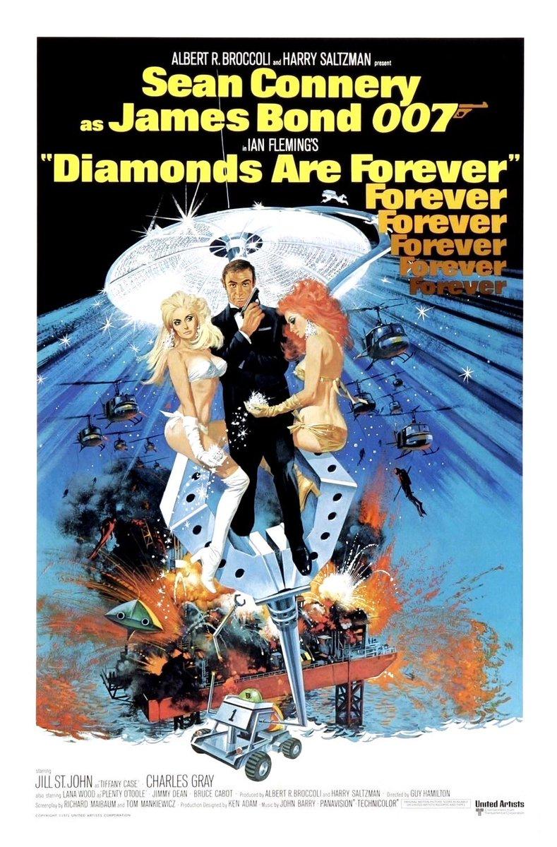 """That's quite a nice little nothing you're almost wearing. I approve.""   #diamondsareforever #jamesbond #bondjamesbond #007 #diamondsareagirlsbestfriend #seanconnery #ianfleming"