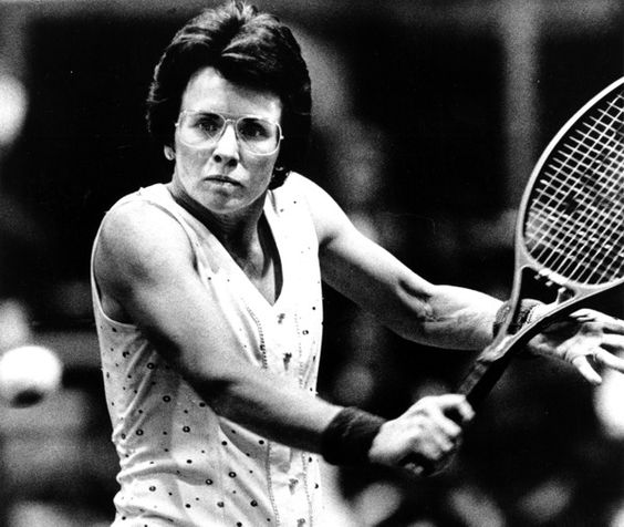 Happy Birthday to tennis star Billie Jean King who turns 77 years old today.