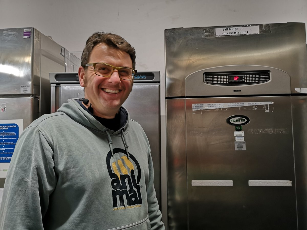 A huge thanks to @McFarlaneTelfer for donating this reconditioned fridge to One Can so we may continue providing fresh fruit and veg to our clients #TogetherWeCan #community