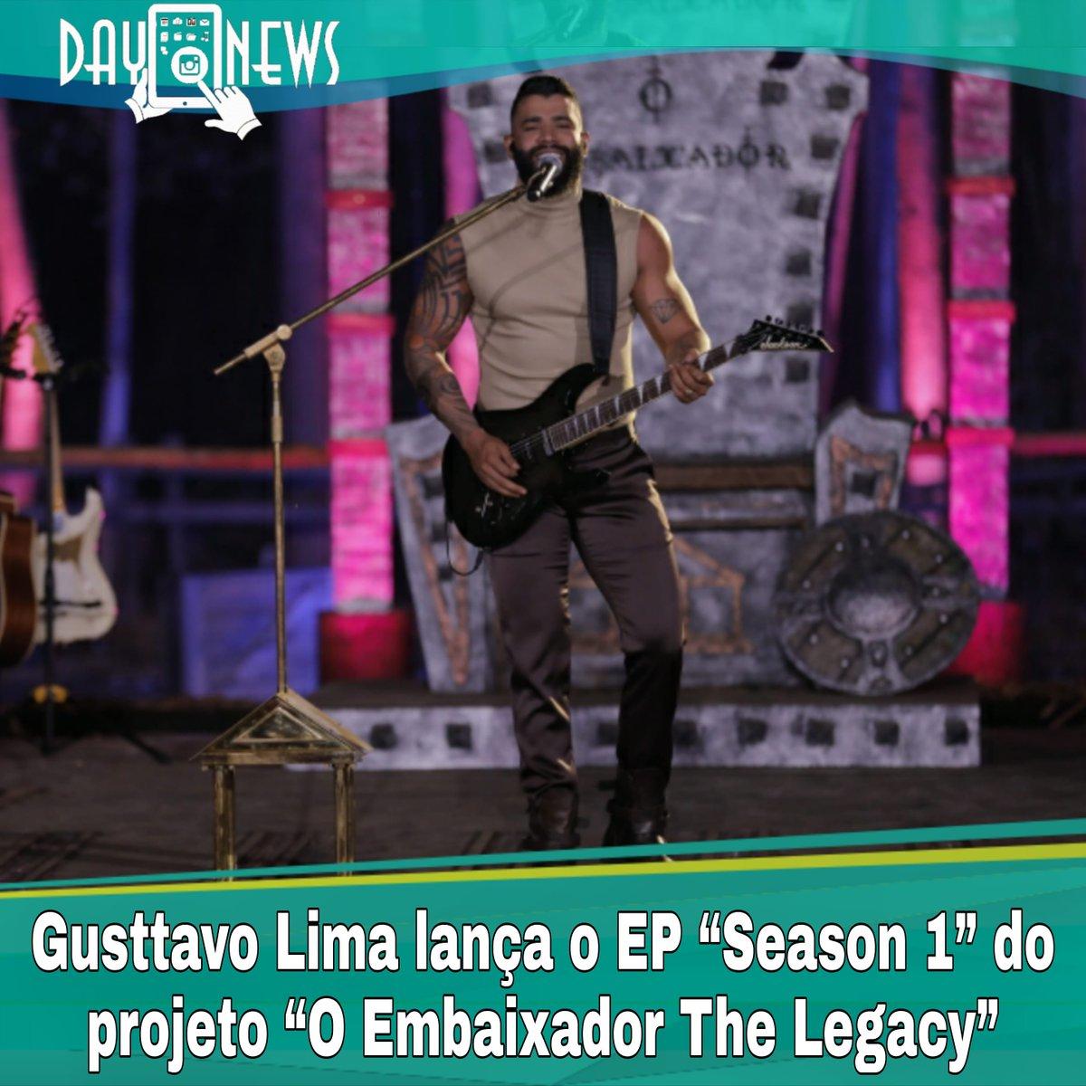 """Junto ao lançamento de """"Espetinho"""", segundo single de trabalho do novo DVD de @gusttavo_lima – """"O Embaixador The Legacy"""", acaba de entrar no ar o EP """"Season 1"""", que reúne em um único lugar a nova faixa e as quatro primeiras canções já apresentadas do projeto.  #gusttavolima"""