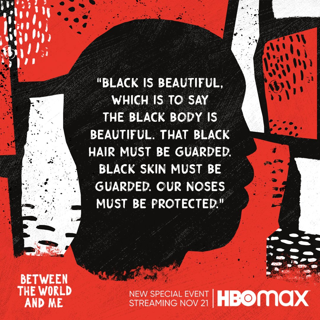 Between the World and Me on @HBO .  Every chord I play is about the struggle.  Dissonance in every breath.  Thank you Ta-Nehisi Coates, @Kamilahf  and @skelechiwatson .