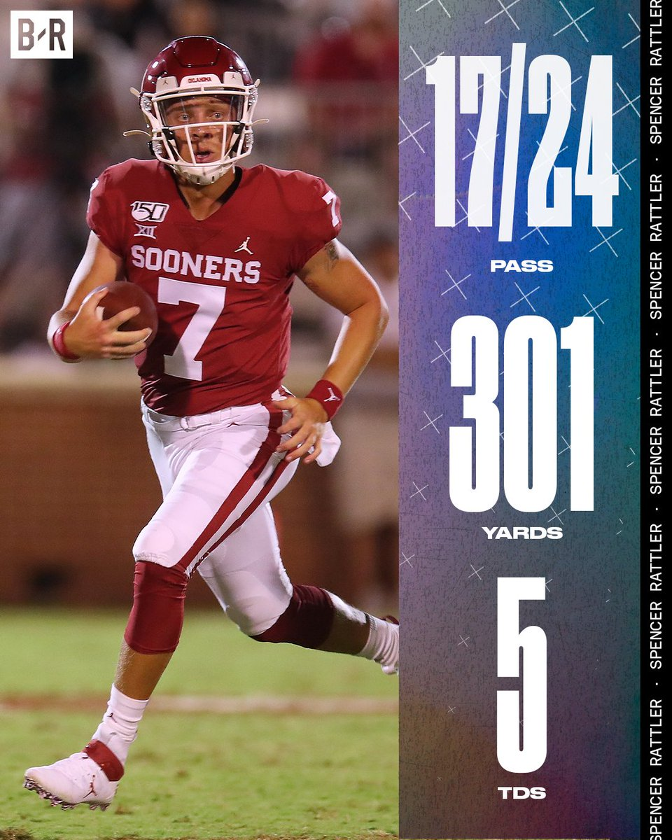 Statement game for Rattler ✔️ No. 18 OU blows out No. 14 Oklahoma State, 41-13