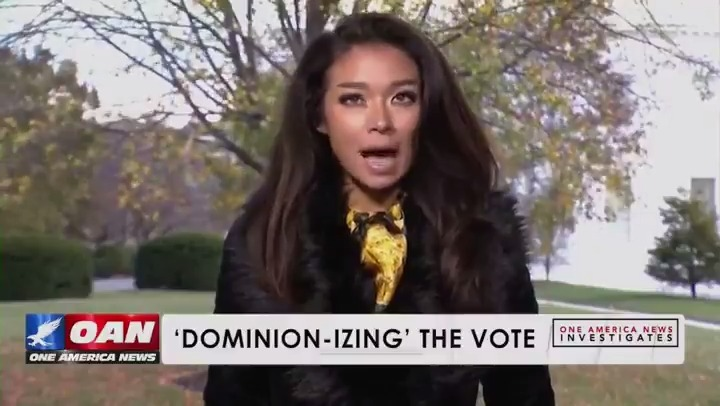 "Replying to @realDonaldTrump: ""Dominion-izing the Vote"" Part One via @OANN @ChanelRion"