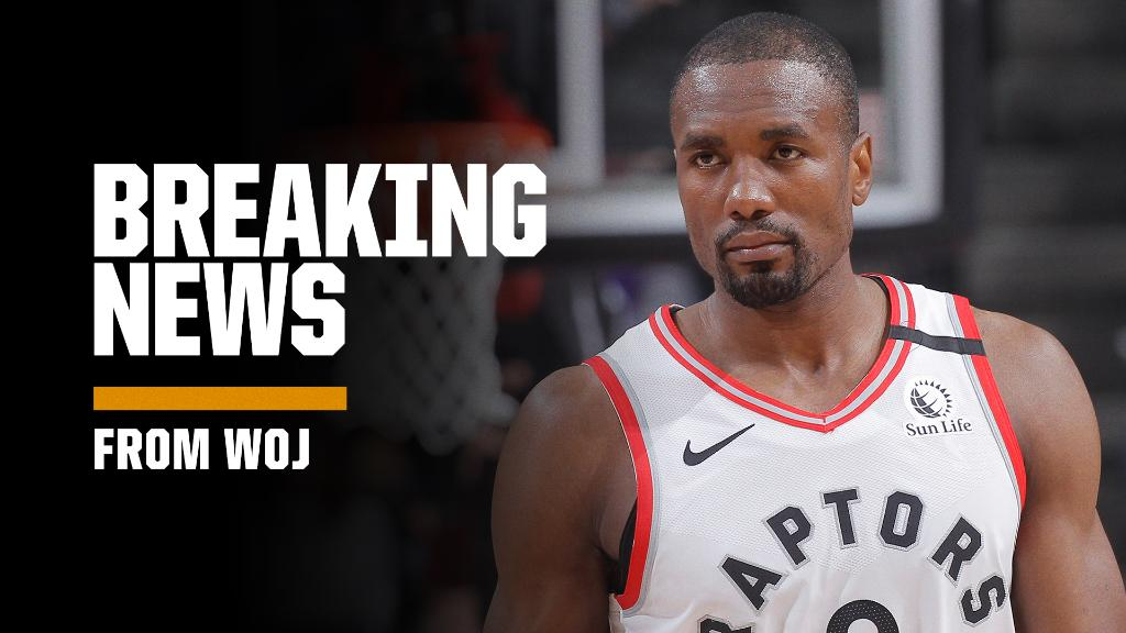 Breaking: Free agent Serge Ibaka plans to sign a 2-year, $19M deal with the Clippers, a source tells @wojespn.