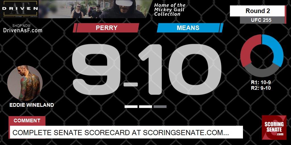 10-9 Means R2  #UFC255 #ScoringSenate #MMA  Scorecard: https://t.co/PYphoynojx https://t.co/cABg1Q31Ch