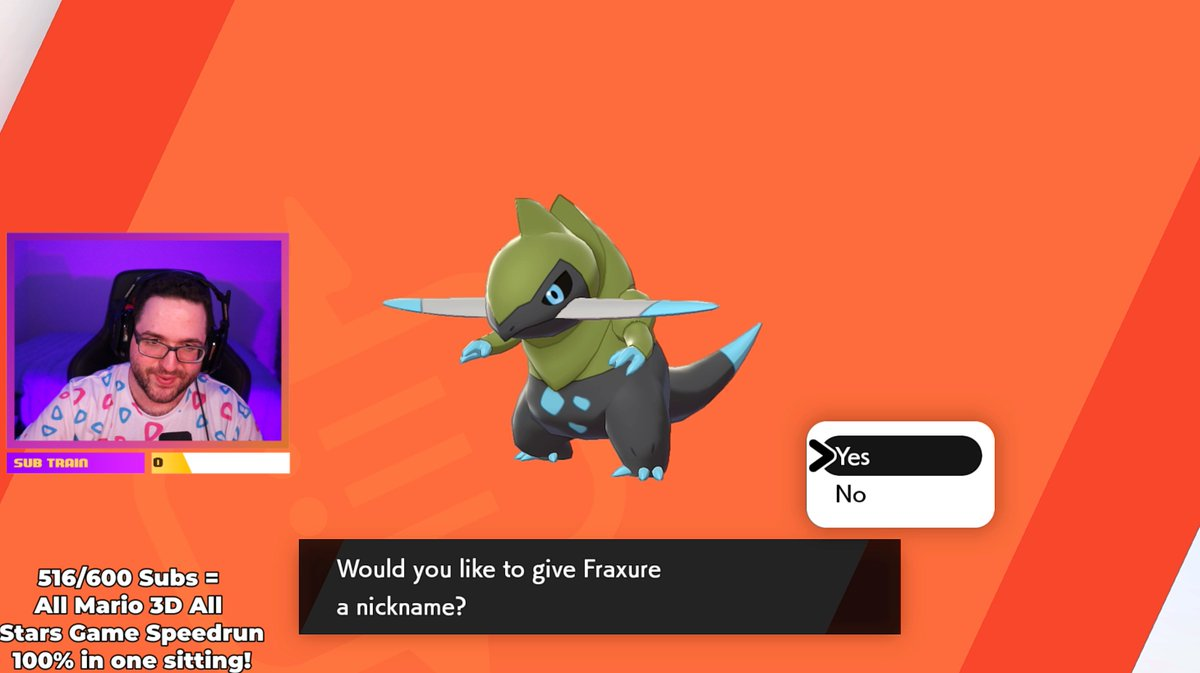 GalacticElliot - We failed a Zygarde raid... ONLY FOR US TO GET A SHINY ANYWAYS! LET'S GOOOO shiny Fraxure is so sick!!!