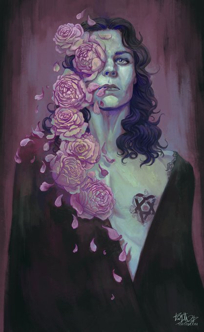 Happy birthday to our -forever- gorgeous goth king Ville Valo!