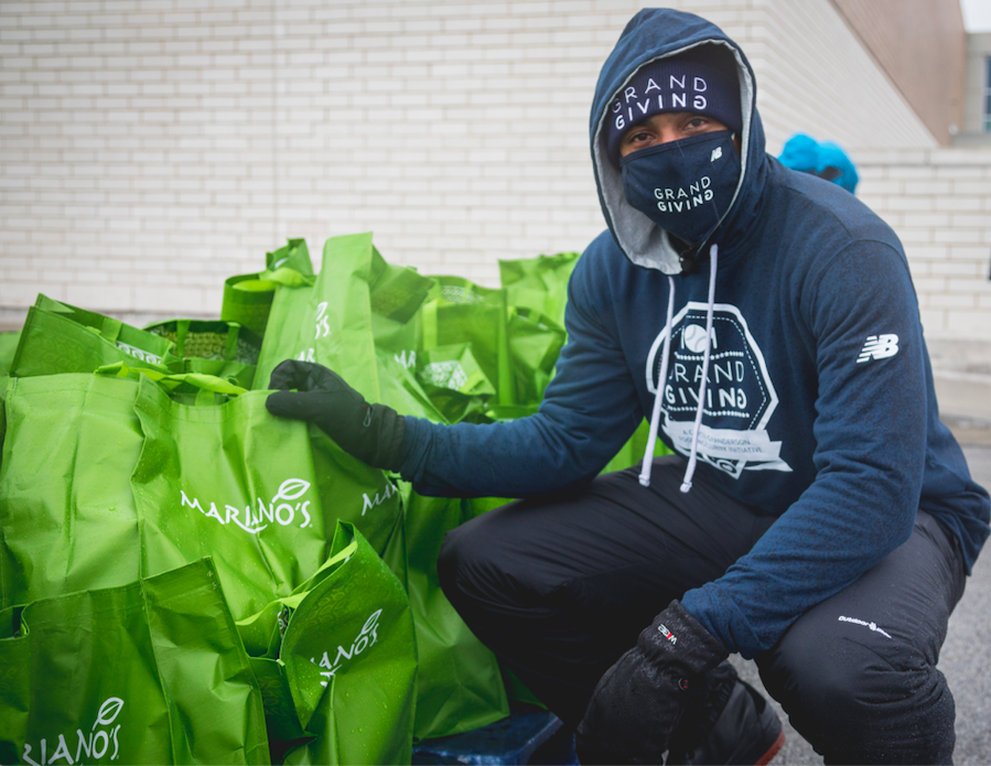 TOMORROW is the final day to donate to the 6th Annual Curtis Granderson Grand Giving campaign. All donations made at Mariano's store checkouts throughout the month of November will directly support @FoodDepository and @ILfoodbank. #grandgiving #zerohunger