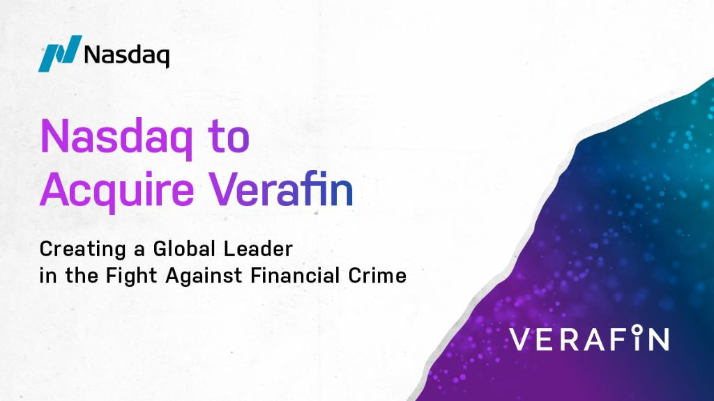 Recently, @Nasdaq announced an agreement to acquire @Verafin, a pioneer in cloud-based anti-financial crime management solutions.  Learn more: https://t.co/MwXElf88sg  (Thread 1/4) https://t.co/fhkIMbyUJa
