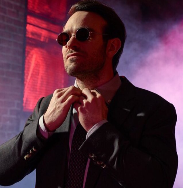 Charlie Cox is Daredevil and that is that. #SaveDaredevil